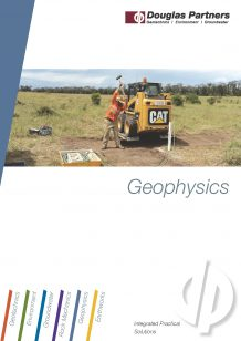 Geophyics Capability Statement