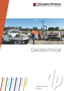 Geotechnical Capability Statement
