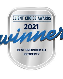 Client Choice Awards 2021 Winner for Best Provider to Property