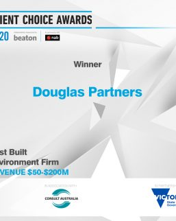 2020 Client Choice Awards - Best Built Environment Firm ($50-200M)