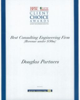 2009 BRW Client Choice Awards - Best Consulting Engineering Firm (Less than $50M)