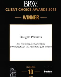 2013 BRW Client Choice Awards - Best Consulting Engineering Firm ($50-$200M)