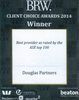 2014 BRW Client Choice Awards - Best Provider as rated by the ASX Top 100