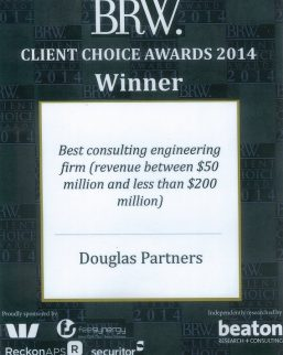 2014 BRW Client Choice Awards - Best Consulting Engineering Firm ($50-$200M)