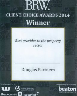 2014 BRW Client Choice Awards - Best Provider to Property Sector