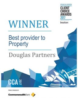 2017 BRW Client Choice Award - Best Provider to Property