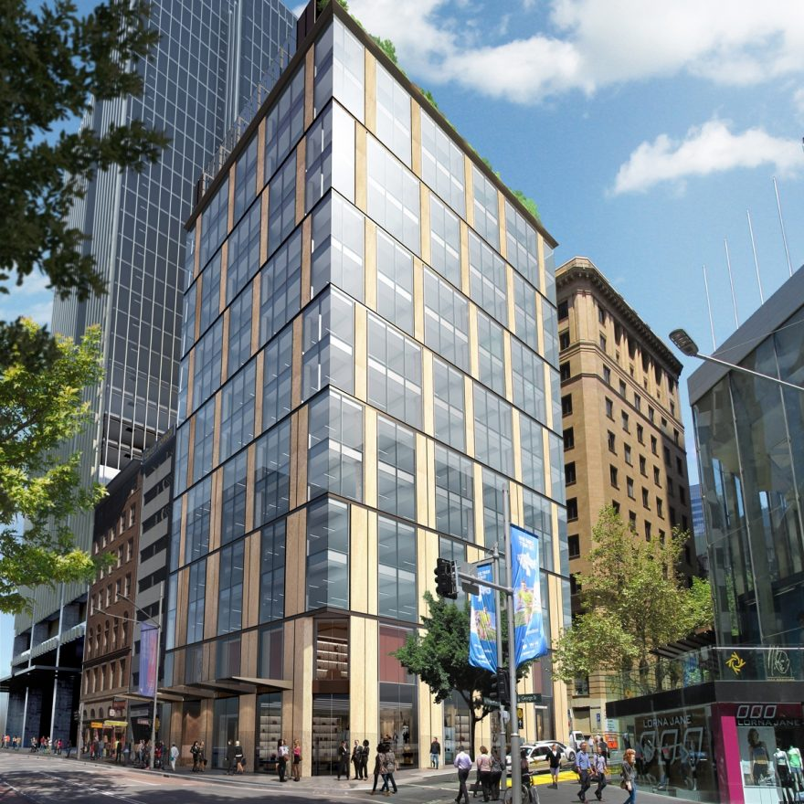 New development at 275 George Street, Sydney