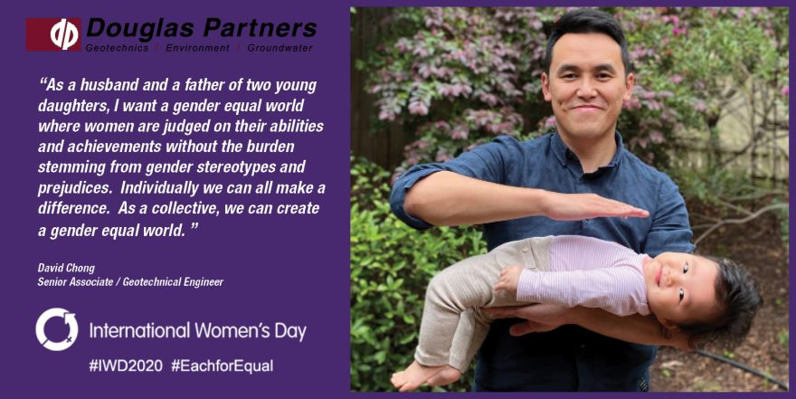 David Chong - International Women's Day 2020