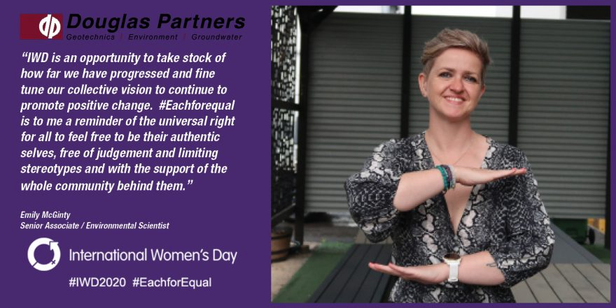 Emily Mc Ginty - International Women's Day 2020