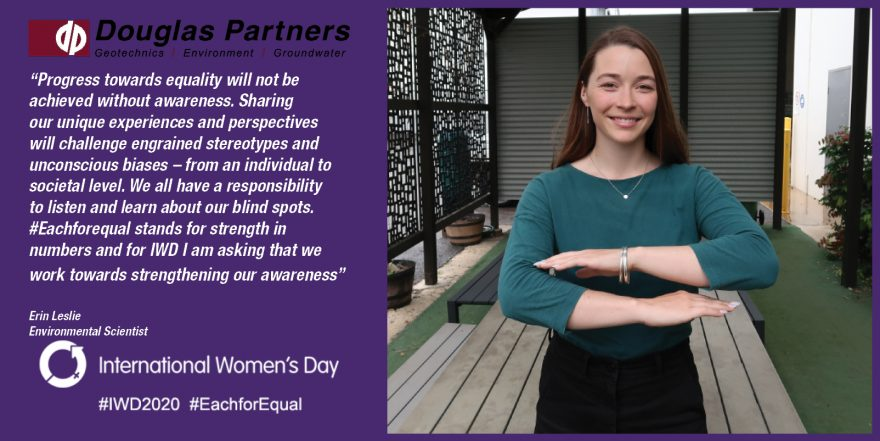 Erin Leslie - International Women's Day 2020