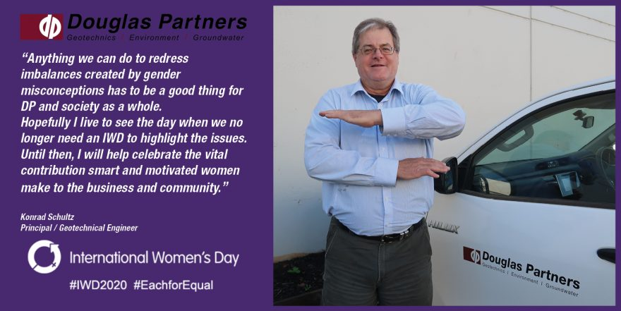 Konrad Schultz - International Women's Day 2020