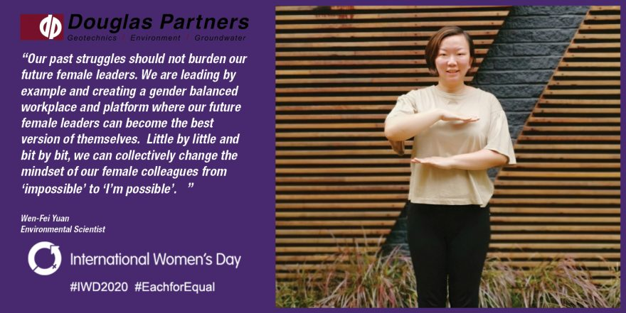 Wen Fei Yuan - International Women's Day 2020