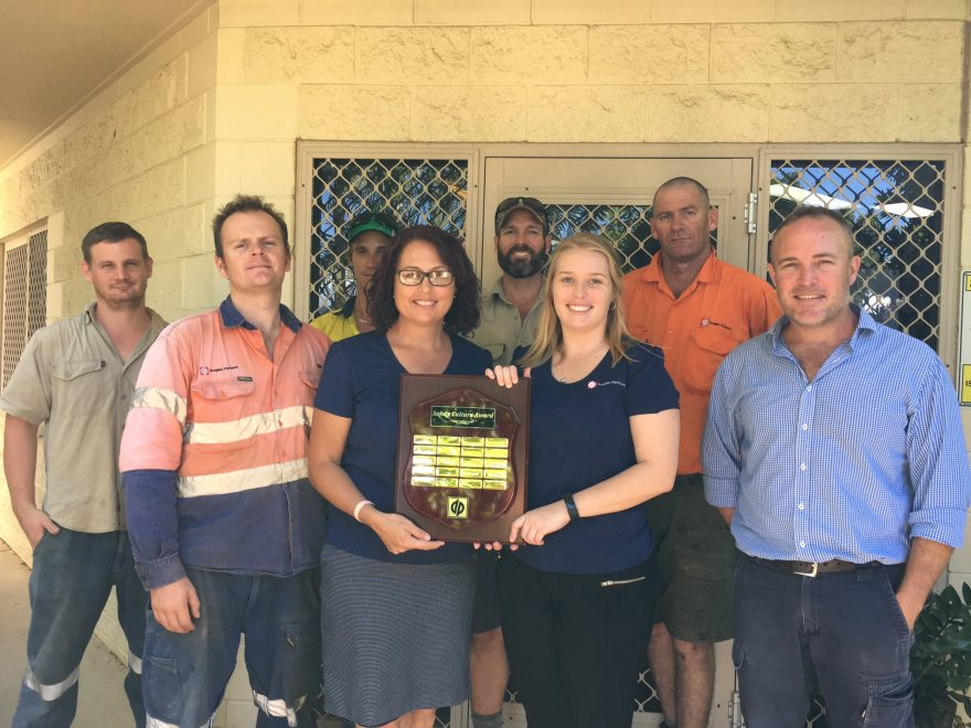 Douglas Partners Townsville wins the Branch Safety Culture Award for 2017