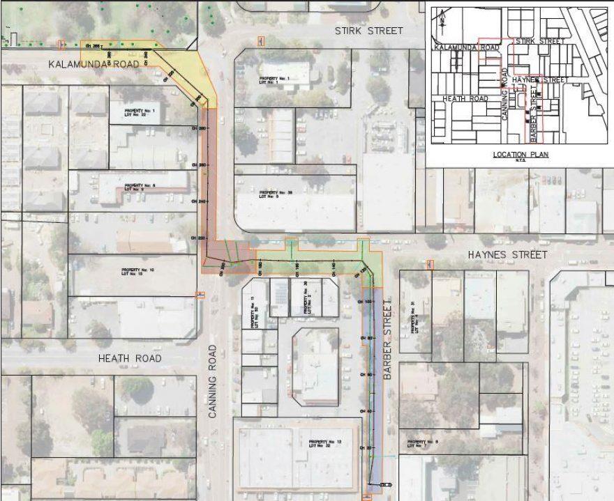 Kalamunda Town Centre Drainage Map