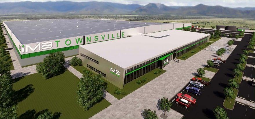 LIB Manufacturing Plant Aerial View