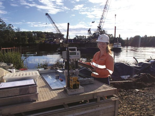One of Douglas Partners' team members from the Graduate Development Programme