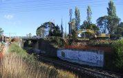 Moss Vale Railway Bridge Drilling Underway