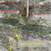 Geological fault mapping provides significant savings for our clients