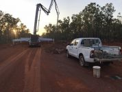 Earthworks services provided for Gunn Point Road upgrade in the Northern Territory